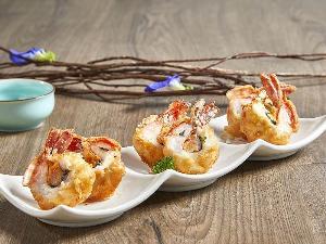 """อาหารจีนแบบร่วมสมัยที่แชงพาเลซ """"สวยทั้งรูป อร่อยทั้งรส"""" จากเชฟรับเชิญจากอินโดนีเซีย"""