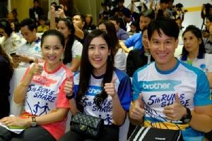 """""""เมจิ"""" ชวนวิ่งการกุศล """"Brother Run & Share วิ่งฝันปันน้ำใจ เพื่อผู้ป่วยโรคมะเร็ง"""" ครั้งที่ 5 นำรายได้มอบแก่มูลนิธิรามาธิบดี"""