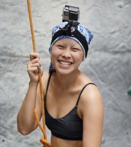 อดีตผู้ป่วยโรคมะเร็งต่อมน้ำเหลือง และนักกีฬาปีนผาทีมชาติไทย พิมพ์-สุวพร ดำรงสุกิจ