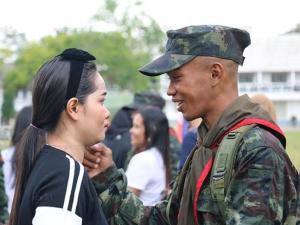 ค่ายเสนาณรงค์เปิดกรมครั้งแรก ให้ครอบครัวเยี่ยมทหารใหม่ผลัดที่ 2