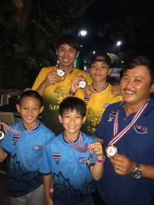 เวคบอร์ดไทย คว้า 2 เหรียญทอง รายการใหญ่ที่สิงคโปร์