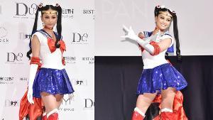 """ทำไมต้องกิโมโน!? ญี่ปุ่นเปิดตัวชุดประจำชาติ """"เซเลอร์มูน"""" ประกวดมิสยูนิเวิร์สที่ไทย"""