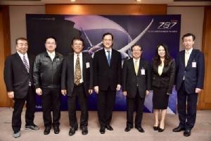 การบินไทยต้อนรับคณะผู้บริหารอิชิคาวาและฟูคูอิ