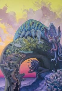 """""""น้องอาร์ม-ปภาดา ศิริสุวัฒน์"""" ศิลปินเลือดปักษ์ใต้ผู้ถ่ายทอดจินตนาการห้วงฝันที่ """"เงียบสนิท"""" ได้อย่างวิจิตรบรรจง"""