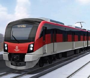 """รถไฟดันสีแดง """"Missing Link"""" 4.4 หมื่นล้าน ตอกเข็มคลองแห้ง """"จิตรลดา"""" เชื่อมหัวลำโพง"""