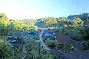 บ้านห้วยน้ำกืน ชุมชนคนอยู่กับป่ารักษาป่าต้นน้ำ