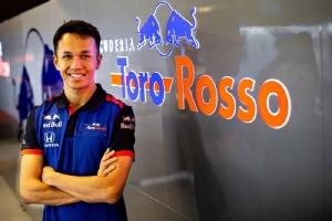 อัลบอน นักขับไทยใน เอฟวัน 2019