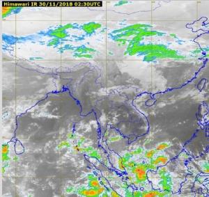 กรมอุตุฯ เผย ไทยตอนบนอุณหภูมิสูงขึ้น 2-4 องศา ภาคใต้มีฝนตกหนักบางแห่ง