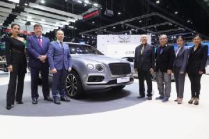 เปิดตัว Bentley Bentayga V8 อัครยนตรกรรมหรู ที่งาน Motor Expo 2018