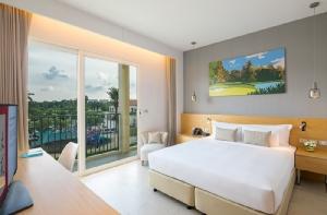 รีสอร์ทให้บริการห้องพักและห้องสวีทจำนวน 194 ห้อง