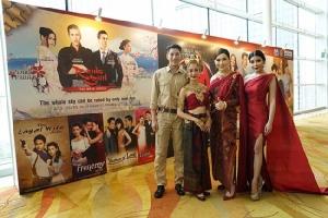 """ประกาศศักดิ์ศรีละครไทย JKN จับมือ ช่อง 3 นำ """"แต้ว-เคน"""" โชว์รำนาคี กลางงาน ATF สิงคโปร์"""