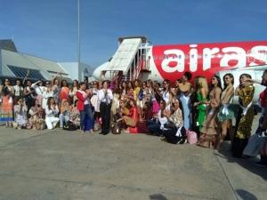 ต้อนรับอบอุ่น Miss Universe 48 ประเทศ เก็บตัวทำกิจกรรมที่กระบี่