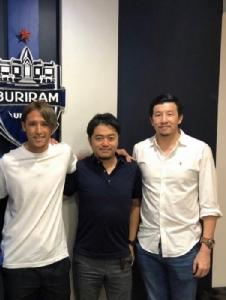"""""""บุรีรัมย์"""" เตรียมเปิดตัวมิดฟิลด์ทีมชาติญี่ปุ่น เสริมแกร่งแดนกลาง"""