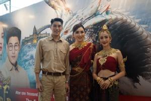 """""""แต้ว-เคน"""" นำทีม  ประกาศศักดิ์ศรีละครไทย  JKN จับมือ ช่อง 3 นำละคร """"นาคี"""" ขายในงาน ATF สิงคโปร์"""