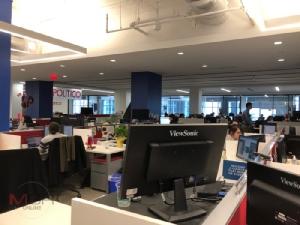 ห้องข่าว (Newsroom) ของโพลิติโค