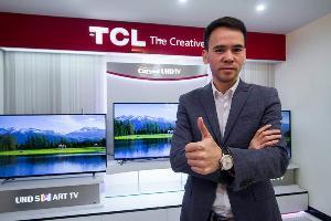 TCL ชูนวัตกรรมทีวีรุ่น AI ผนึกเมเจอร์ฯ อัดแคมเปญดันยอด