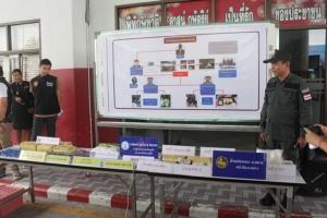 ตำรวจภูเก็ต สนธิกำลัง จับเครือข่ายยาเสพติดรายใหญ่ ยึดยาบ้ากว่า 142,022 เม็ด ไอซ์ อีก 3 กิโล