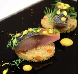 ปลาซาบะปรุงแบบฝรั่งเศส