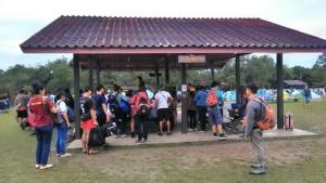วันหยุดยาว นักท่องเที่ยวกว่า 4,000 คนแห่ขึ้นชมแสงแรกพระอาทิตย์บนภูกระดึง