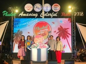 """ททท.จัดยิ่งใหญ่ """"Phuket Amazing Colorful Taste 2018"""" รวมสุดยอดเมนูเด็ดทั่วไทยมาไว้ที่หาดป่าตอง"""