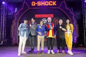 """ยัวร์บอยทีเจ ออกแบบนาฬิกา """"G-Shock X UrboyTJ Limited Edition"""" พร้อมเปิดคอนเสิร์ตสุดมันส์ฉลอง 35 ปี จี-ช็อค """"มิ้นท์-ชิน"""" ร่วมแจม"""