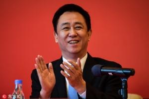 ซู เจีย หยิน ประธาน บริษัท Evergrande Group ธุรกิจอสังหาริมทรัพย์ ได้กลายเป็นคนที่ร่ำรวยที่สุดในประเทศจีน (ภาพไชน่าเดลี)