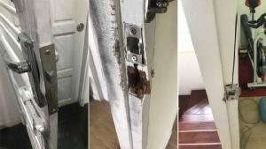 """เจ้าของบ้านบอกโจร """"ไม่ต้องเข้ามาแล้ว"""" อุกอาจพังประตู-วงกบทุกห้อง โวย """"สภ.ปลายบาง"""" เกียร์ว่าง"""
