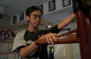 ครูฝึกสอนมวยหวิงชุน โชว์ลีลามวยหวิงชุน