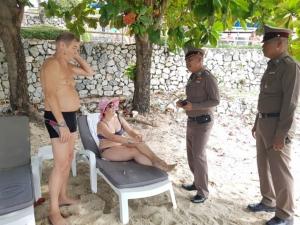 รวบแล้วหนุ่มฉกทรัพย์นักท่องเที่ยวขณะเล่นน้ำชายหาดพัทยาจนเหลือเพียงกางเกงในตัวเดียว