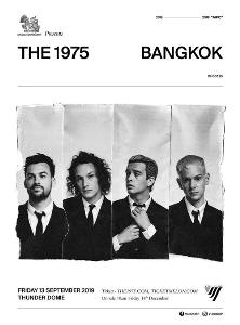 "VIJI CORP ต้อนรับการกลับมายิ่งใหญ่ของ The 1975 ด้วยคอนเสิร์ต ""SINGHA CORPORATION PRESENTS The 1975 LIVE IN BANGKOK"""