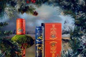 """ทีดับเบิลยูจี ที เติมความอบอุ่นและครึกครื้นในเทศกาลคริสต์มาส ด้วยชาลิมิเต็ด เอดิชั่น """"ไนท์ ออฟ โนเอล ที"""" และเมนูสุดหรู"""