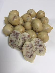 ไส้กรอกไข่ปลา ครั้งแรกนำไข่ปลา ผสมไส้กรอกไก่ ข้าวสังข์หยด ของดีเมืองพัทลุง