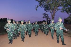 กองพลทหารราบที่ 9 ค่ายสุรสีห์ จัดกิจกรรมเตรียมพร้อมกำลังพล