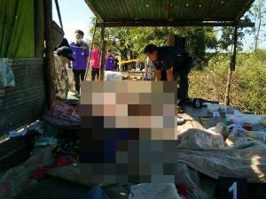 สุดสะเทือนขวัญ! คนร้ายทุบหัวฆ่ายกครัวแรงงานพม่าคาไร่แม่สอด 4 ศพ เด็ก 4 เดือนยังไม่เว้น