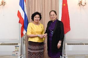 สภาสตรีไทย-กวางซี ร่วมมือพัฒนาศัยกภาพสตรีอาเซียน