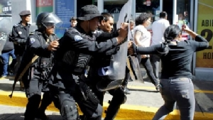 Journalists and human rights activists are attacked indiscriminately by the Nicaraguan police