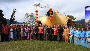 """""""แม่สลอง"""" เตรียมจัดงานชิมชา-ชมซากุระงามข้ามปี ร่วมเคานต์ดาวน์-ตักบาตรชาหนึ่งเดียวในโลก"""