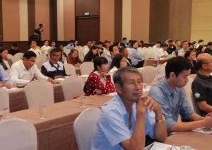 ร.ฟ.ท.จัดเวทีรับฟังความเห็นชาวชลบุรี-ระยอง หลังศึกษาเส้นทางรถไฟเชื่อม 3 ท่าเรือตะวันออก