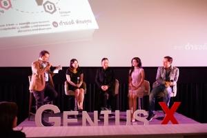 """""""เบิร์ด กะ ฮาร์ท"""" ร่วมโชว์ผลงานคู่อีกครั้ง ในงานเปิดตัวหนังสือ 'GENIUSX' โดย อ.ดำรงค์ พิณคุณ"""