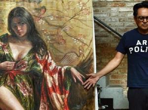 'กิ๊บซี่ วนิดา' หญิงสาวคนล่าสุดบนผืนผ้าใบของ 'ศักดิ์วุฒิ วิเศษมณี'