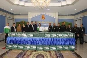 ไทยเบฟ สนับสนุนกองทัพภาคที่ 3 มอบผ้าห่มช่วยเหลือผู้ประสบภัยในเขตชายแดนภาคเหนือ