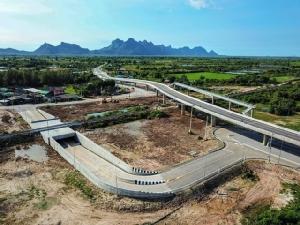 สะพานข้ามทางรถไฟและอุโมงค์ลอดทางรถไฟ จุดตัดทางรถไฟฯ จังหวัดประจวบคีรีขันธ์
