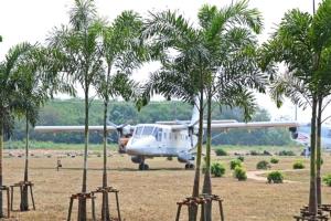 สวนนงนุชพัทยา เนรมิตสวนสวยเบื้องหน้าพิพิธภัณฑ์การบินทหารเรือ สัตหีบ