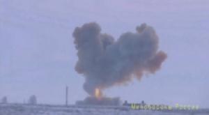 """""""ฟังแล้วสะดุ้ง"""" รัสเซียโวขีปนาวุธเหนือเสียงใหม่ ทำความเร็วสูงสุด 30,000 กม.ต่อชั่วโมง! (ชมคลิป)"""