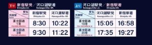 รถไฟด่วนวิ่งตรงจากโตเกียวสู่ภูเขาไฟฟูจิ พบกันแน่ 16 มี.ค.