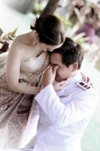 แอฟ-สงกรานต์ วันที่แต่งงานกัน