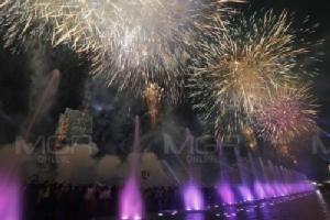 สุดตระการตา พลุเฉลิมฉลองส่งท้ายปีเก่าต้อนรับปีใหม่ ริมแม่น้ำเจ้าพระยา