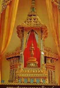 พระสยามเทวาธิราช ประดิษฐานในพระวิมาน
