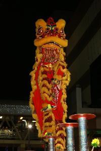 เดอะมอลล์ ช้อปปิ้งเซ็นเตอร์ ฉลองเทศกาลตรุษจีนจัดการประกวด สิงโตบนเสาดอกเหมย ชิงถ้วยพระราชทาน สมเด็จพระเทพ