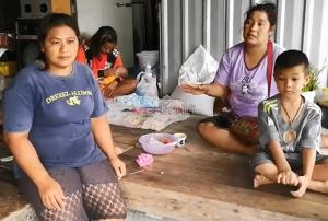 เริ่มอพยพประชาชนในหลายหมู่บ้านของ อ.ระโนด จ.สงขลา หนีพายุปาบึก